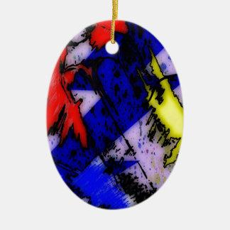 Ornamento De Cerâmica Mágica do Airbrush