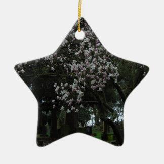 Ornamento De Cerâmica Magnólias para sempre