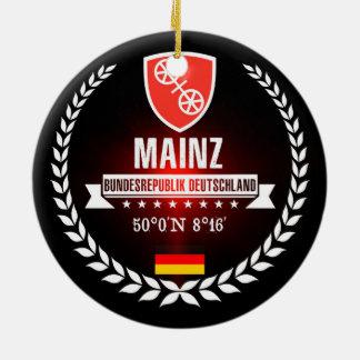 Ornamento De Cerâmica Mainz