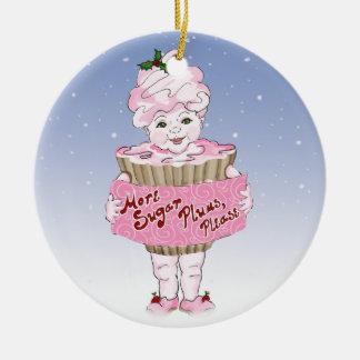 Ornamento De Cerâmica Mais ameixas do açúcar, ornament por favor