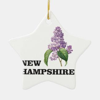 Ornamento De Cerâmica mais New Hampshire