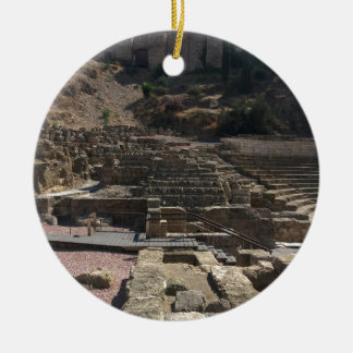 Ornamento De Cerâmica Malaga; anfiteatro