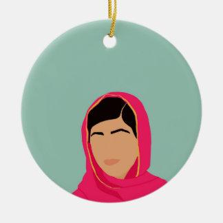 Ornamento De Cerâmica Malala Yousafzai