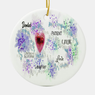 Ornamento De Cerâmica Mamã