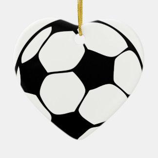 Ornamento De Cerâmica mamã do futebol