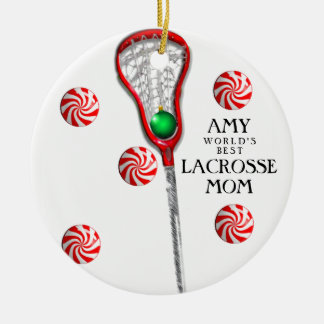 Ornamento De Cerâmica Mamã do Lacrosse
