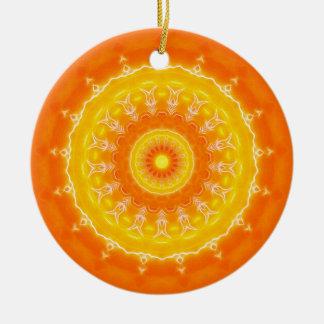 Ornamento De Cerâmica Mandala