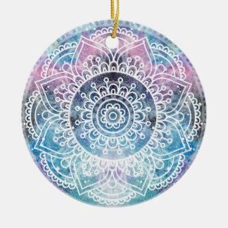 Ornamento De Cerâmica Mandala da galáxia