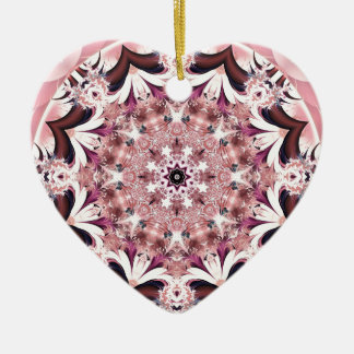 Ornamento De Cerâmica Mandalas do coração da liberdade 11 presentes