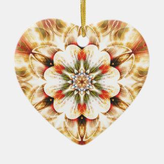 Ornamento De Cerâmica Mandalas do coração da liberdade 20 presentes