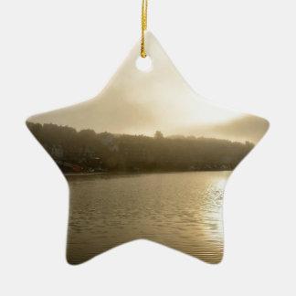 Ornamento De Cerâmica Manhã nevoenta de Whitby