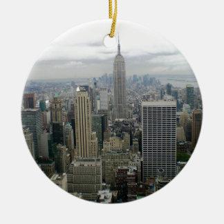 Ornamento De Cerâmica Manhattan, NYC