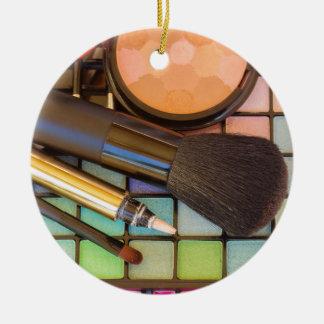 Ornamento De Cerâmica Maquilhador