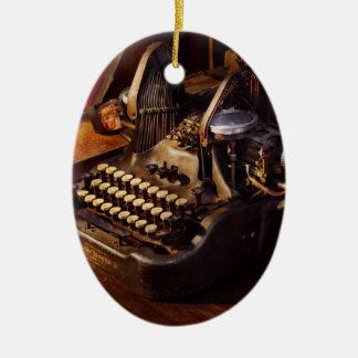 Ornamento De Cerâmica Máquina de dactilografia de Steampunk - de Oliver