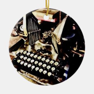 Ornamento De Cerâmica Máquina de escrever antiga Oliver #9