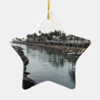 Ornamento De Cerâmica Mar de Sun