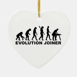 Ornamento De Cerâmica Marceneiro da evolução