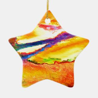 Ornamento De Cerâmica Maré entrante