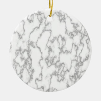 Ornamento De Cerâmica Mármore