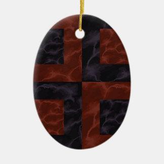 Ornamento De Cerâmica Mármore 3
