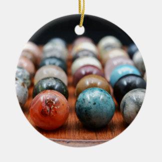Ornamento De Cerâmica Mármores