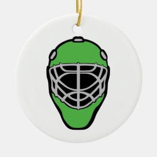 Ornamento De Cerâmica Máscara do Goalie
