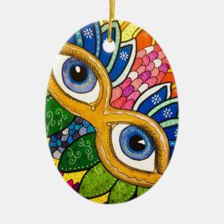 Ornamento De Cerâmica Máscara veneziano