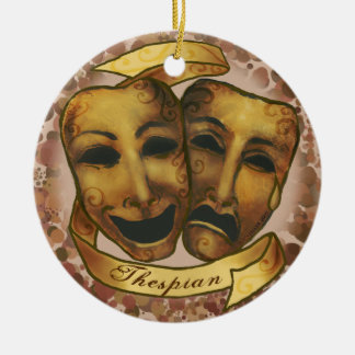 Ornamento De Cerâmica Máscaras do ator