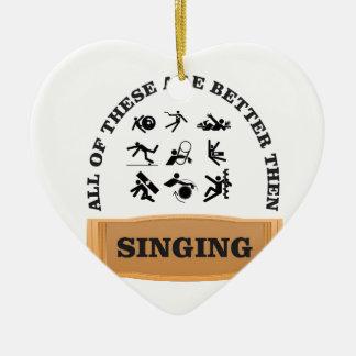 Ornamento De Cerâmica mau do canto
