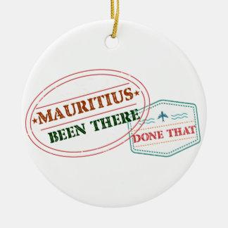 Ornamento De Cerâmica Maurícia feito lá isso