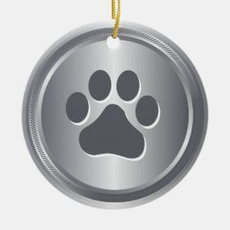 Ornamento De Cerâmica Medalhista de prata do vencedor da exposição de