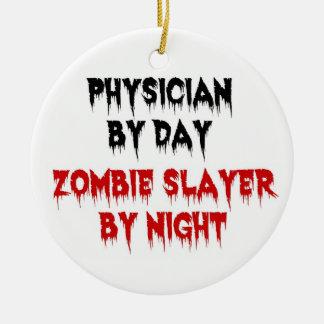 Ornamento De Cerâmica Médico pelo assassino do zombi do dia em a noite