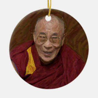 Ornamento De Cerâmica Meditação budista Yog do budismo de Dalai Lama
