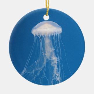 Ornamento De Cerâmica Medusa azuis bonitas