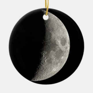 Ornamento De Cerâmica Meia lua