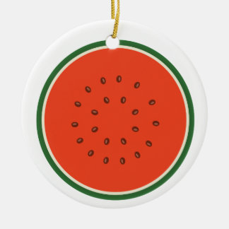 Ornamento De Cerâmica melancia para dentro