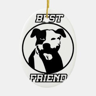 Ornamento De Cerâmica Melhor amigo