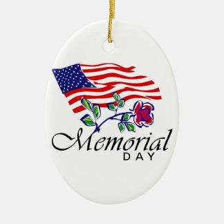 Ornamento De Cerâmica Memorial Day