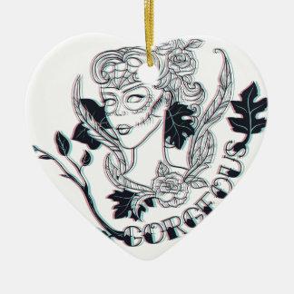 Ornamento De Cerâmica Menina lindo