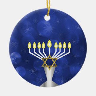 Ornamento De Cerâmica Menorah