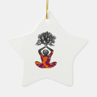 Ornamento De Cerâmica Mente, corpo, espírito