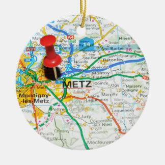 Ornamento De Cerâmica Metz, France