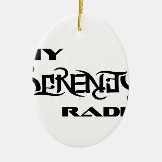 Ornamento De Cerâmica Meus veterinários do apoio de produtos do rádio da