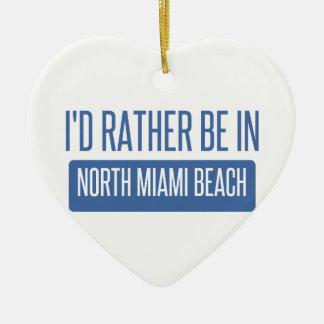 Ornamento De Cerâmica Miami Beach norte
