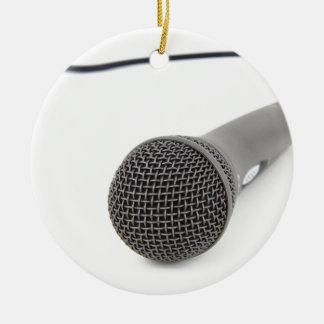 Ornamento De Cerâmica Microfone do estúdio