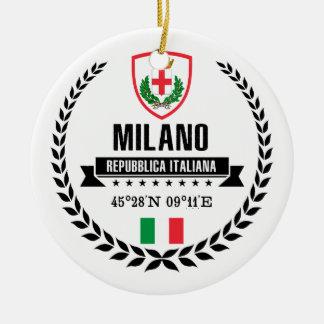 Ornamento De Cerâmica Milão