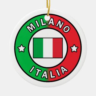 Ornamento De Cerâmica Milão Italia