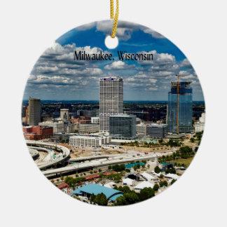 Ornamento De Cerâmica Milwaukee, arquitectura da cidade de Wisconsin