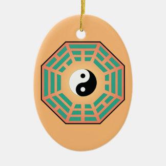 Ornamento De Cerâmica Mim Ching Yin Yang
