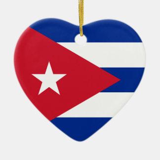Ornamento De Cerâmica Mim coração Cuba!